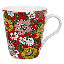 Buy Cath Kidston Stanley Camden Mug, Red Online at johnlewis.com
