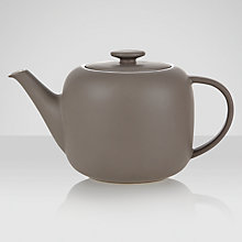 Buy John Lewis Puritan Teapot, 1.1L, Mocha Online at johnlewis.com