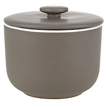 Buy John Lewis Puritan Sugar Bowl, Mocha Online at johnlewis.com