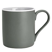 Buy John Lewis Puritan Mug, Grey Online at johnlewis.com