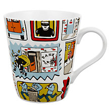 Buy Cath Kidston Stanley Stop Thief Mug, 0.5L Online at johnlewis.com