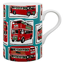 Buy Cath Kidston Cedar London Buses Mug Online at johnlewis.com