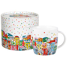 Buy Cath Kidston Christmas Townhouse Spice Mug in a Box Online at johnlewis.com