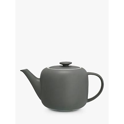 John Lewis Puritan Teapot, 1.1L, Grey