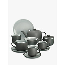 Buy John Lewis Puritan Tableware, Grey Online at johnlewis.com