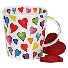 Buy Dunoon Cairngorm Warm Hearts Mug Online at johnlewis.com