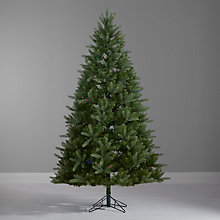 Buy John Lewis Pre-Lit Bergen Dual Colour Christmas Tree, Multi, 7ft Online at johnlewis.com