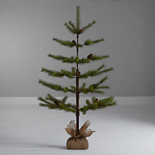 Buy John Lewis Shetland Pine Christmas Tree, 4ft Online at johnlewis.com