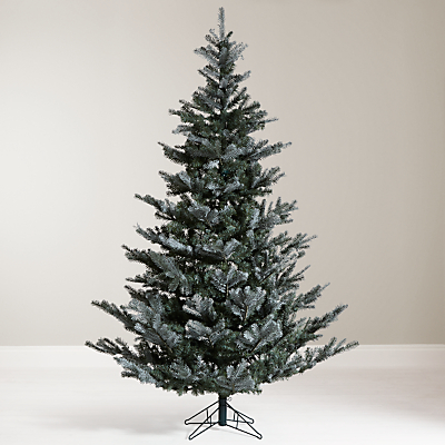 John Lewis Croft Collection Silver Forest Spruce Christmas Tree, 7ft