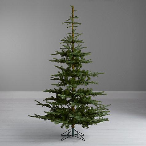 Buy john lewis argyle green fir christmas tree 7ft john lewis
