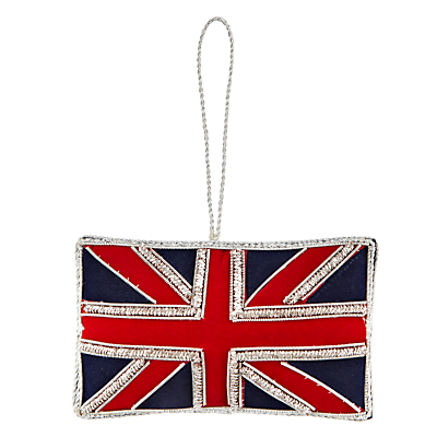 Image of Tinker Tailor Tourism Great Britain Flag Hanging Decoration