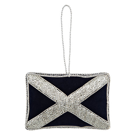 Buy Tinker Tailor Scottish Flag Hanging Decoration Online at johnlewis.com
