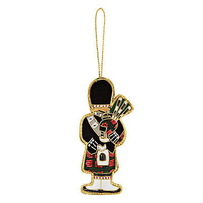 Image of Tinker Tailor Tourism Bagpiper Hanging Decoration
