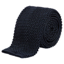 Buy Aquascutum Knitted Silk Tie Online at johnlewis.com