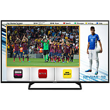 "Buy Panasonic Viera TX-50AS500B LED HD 1080p Smart TV, 50"" with Freeview HD Online at johnlewis.com"