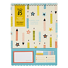 Buy Busy B School Year Calendar Online at johnlewis.com