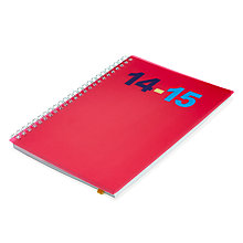 Buy Letts Wiro A5 Week to View Mid Year 2014/15 Diary Online at johnlewis.com