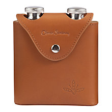 Buy Oliver Sweeney Cummersdale Hip Flask, Tan Online at johnlewis.com