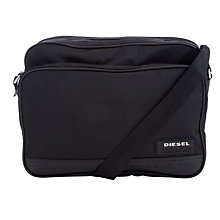 Buy Diesel Potsie Shoulder Bag, Black Online at johnlewis.com
