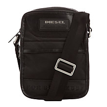 Buy Diesel New Fellow Bag, Black Online at johnlewis.com