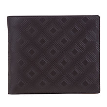 Buy Oliver Sweeney Leather Diamond Billfold Wallet, Brown Online at johnlewis.com