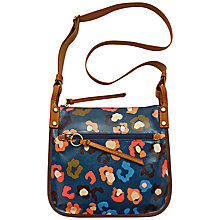 Buy Fossil Keyper Crossbody Bag, Turquoise Online at johnlewis.com