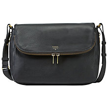 Buy Fossil Preston Flap Handbag Online at johnlewis.com