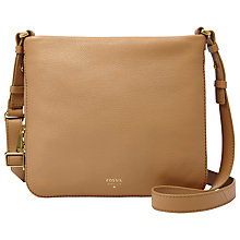 Buy Fossil Preston Across Body Leather Bag Online at johnlewis.com