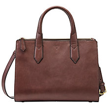 Buy Fossil Knox Leather Shopper Bag Online at johnlewis.com