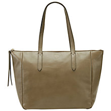 Buy Fossil Sydney Leather Shopper Bag Online at johnlewis.com