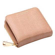 Buy Aspinal of London Continental Zipped Coin Leather Purse, Deer Online at johnlewis.com