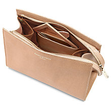Buy Aspinal of London Medium Cosmetic Case, Deer Saffiano Online at johnlewis.com