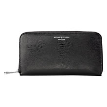 Buy Aspinal of London Continental Leather Clutch Zip Wallet Online at johnlewis.com