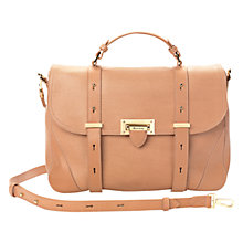 Buy Aspinal of London Mollie Leather Satchel Bag Online at johnlewis.com