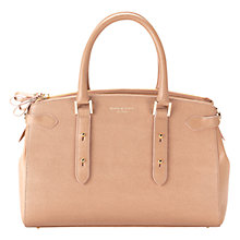 Buy Aspinal of London Brook Street Leather Grab Bag, Deer Saffiano Online at johnlewis.com