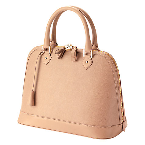 Buy Aspinal of London Hepburn Leather Bowling Bag Online at johnlewis.com