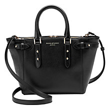 Buy Aspinal of London Marylebone Leather Mini Tote Bag Online at johnlewis.com