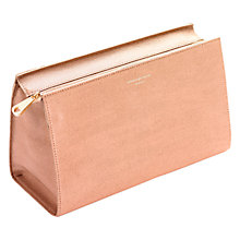 Buy Aspinal of London Large Cosmetic Case, Deer Saffiano Online at johnlewis.com