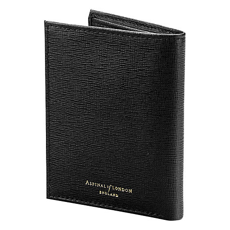 Buy Aspinal of London Double Fold Credit Card Leather Case Online at johnlewis.com