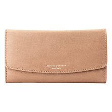 Buy Aspinal of London Brook Street Purse Wallet, Deer Saffiano Online at johnlewis.com