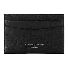 Buy Aspinal of London Slim Credit Card Case Online at johnlewis.com