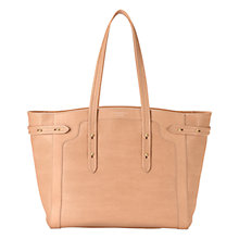 Buy Aspinal of London Marylebone Light Leather Tote Bag Online at johnlewis.com