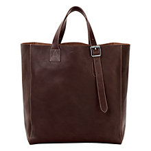 Buy Aspinal of London 'A' Leather Tote Bag Online at johnlewis.com
