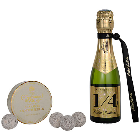 Buy Nicolas Feuillatte Brut Champagne and Truffles Gift Set Online at johnlewis.com