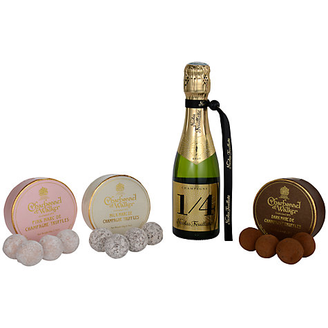 Buy Nicolas Feuillatte Brut Champagne and Trio Truffles Gift Set Online at johnlewis.com