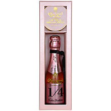 Buy Nicolas Feuillatte Rose Champagne and Truffles Gift Set Online at johnlewis.com