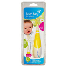 Buy Brush Baby BabySonic Electric Toothbrush Online at johnlewis.com