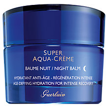 Buy Guerlain Super-Aqua Creme Night Balm, 50ml Online at johnlewis.com