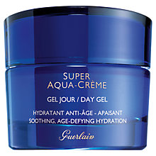 Buy Guerlain Super Aqua-Crème Day Gel, 50ml Online at johnlewis.com