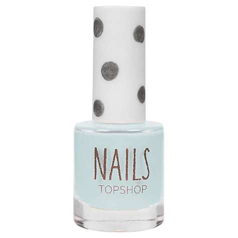 Buy TOPSHOP Nails - Blues Online at johnlewis.com